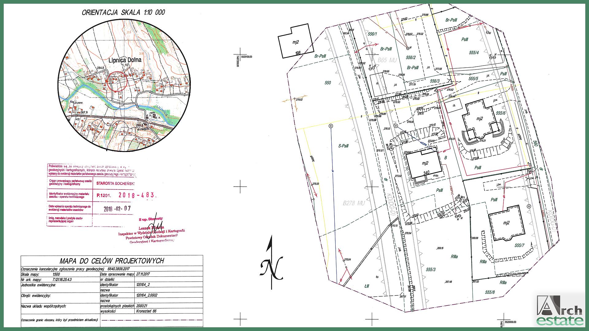 Mapa Do Celow Projektowych Arch Estate